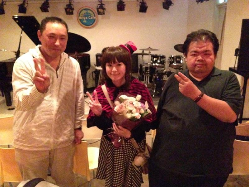 miiya cafeライブ、ありがとう!