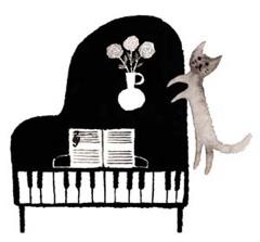 yuyuピアノを弾く