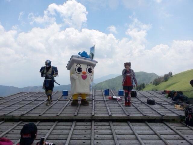 剣山山頂ライブ終了\(^o^)/