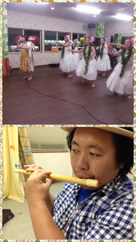 篠笛と小太鼓、猛特訓